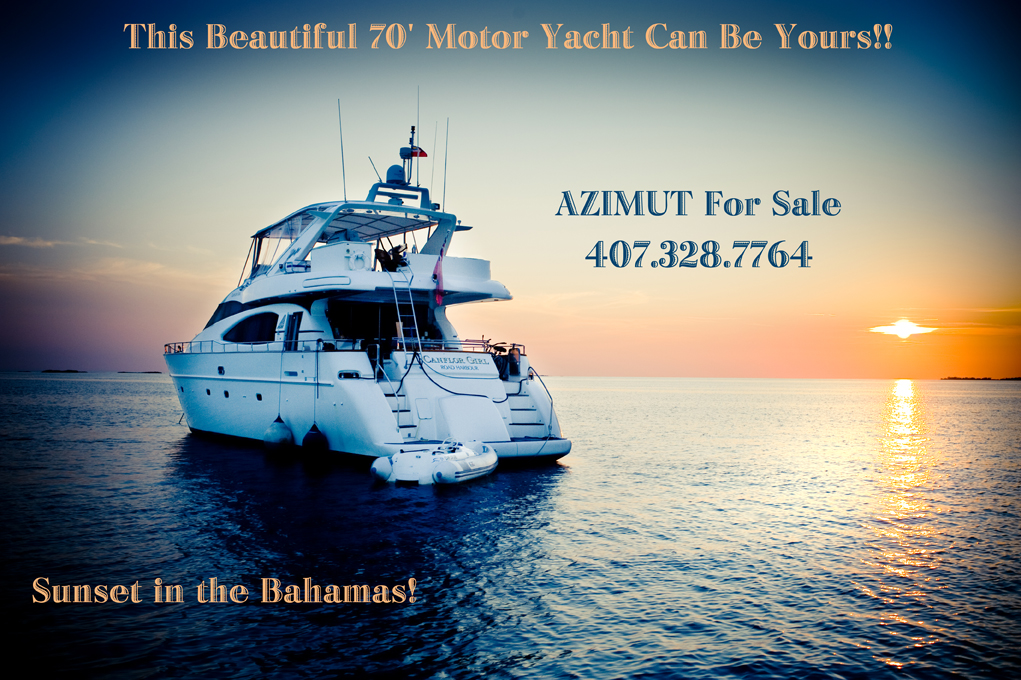 This 1996 Azimut 70 Sea Jet is a large motor yacht with very spacious salon ...